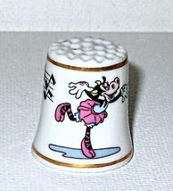 Disney  Clarabelle Cow Character Thimble 1993 Porcelain - $5.95