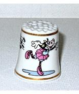 Disney  Clarabelle Cow Character Thimble 1993 Porcelain - $5.00