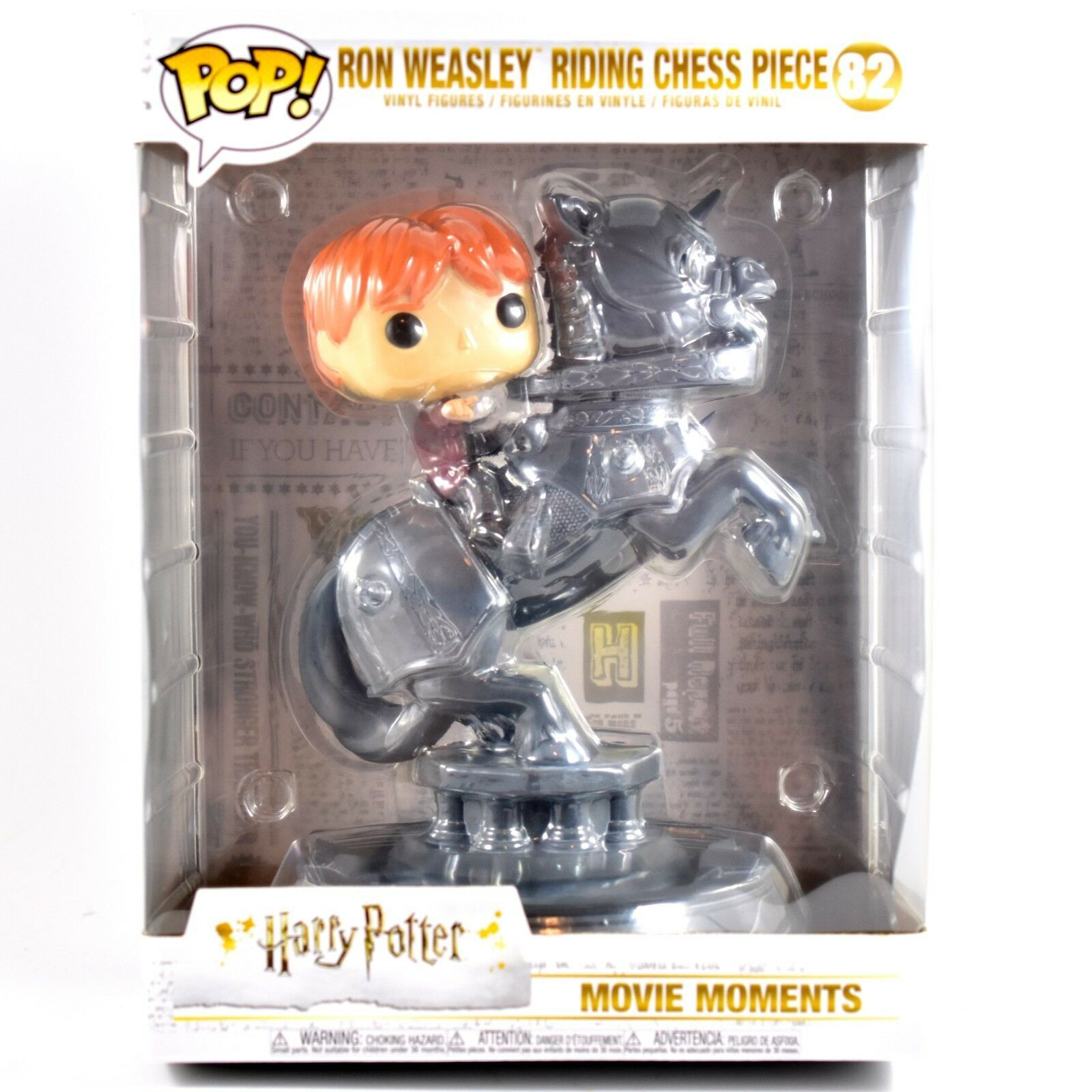 Funko Pop! Movie Moments Harry Potter Ron Weasley Riding Chess Piece #82