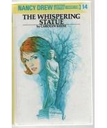 The Whispering Statue - Nancy Drew #14  - Carolyn Keene - HC - 1997 0448... - $5.87