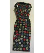Vintage Barbie Apple Print Sheath Dress - $66.50