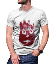 Vintage Short Tee wilson from castaway T-Shirt Men White - $10.99+