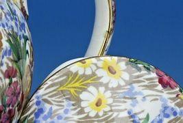 Vintage Royal Winton Marguerite Floral Chintz Teapot image 9