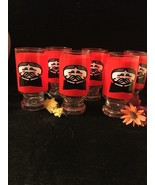 Vintage Pringles Tumbler/ Bar Glasses Set Of 6 - $39.59