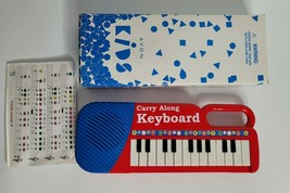 Carry Along Red Keyboard Avon Kids1999 WORKING TESTED in Box with Music - $19.99