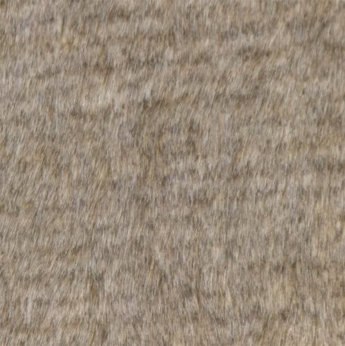 Pillow Decor - Tundra Hare Faux Fur 12x20 Throw Pillow