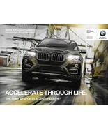 2015/2016 BMW X6 sales brochure catalog folder 15 US sDrive xDrive 35i 50i - $8.00