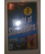 World of Simulators (Nintendo Switch) Airport Fire Construction Firefigh... - $29.69