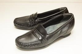 SAS 8 S Black Slip On Loafers Women's - $64.00