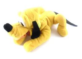 Disney Pluto The Dog 8 Inch Mini Bean Bag Plush Toy Disney Park Souvenir - $6.85