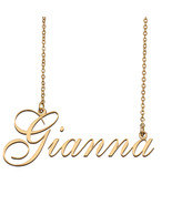Gianna Custom Name Necklace Personalized for Mother's Day Christmas Gift - $15.99+
