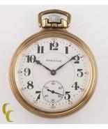 Hamilton Grade 992 10K Gold Filled Pocket Watch 21 Jewel Size 16s 1921 - $787.16