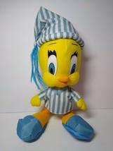 "1997 Vintage Looney Tunes Tweety Bird Plush Ace Night Time Pajamas Stuffed 13"" - $13.86"