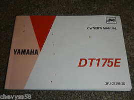 1993 93 Yamaha DT175E Dt 175 Owner Owners Owner's Manual - $29.74