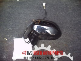 2008 HONDA FIT BLACK LEFT SIDE VIEW MIRROR #1780