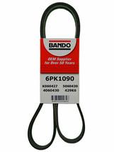 Serpentine Belt Bando 6PK1090 Fits 2014 Mercedes SLK55 Amg 5.5L-V8 B19-1 - $19.85
