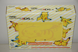 new Nintendo 3DS XL PIKACHU YELLOW Edition Game Console Entertainment Sy... - $308.59
