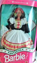 Barbie Doll -  Fantastica Barbie Doll in Authenic Mexican Dance Dress -L... - $39.95