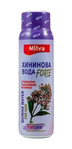 Primary image for MILVA QUININE WATER with more Quinine Anti Hair Loss Very Effective 100ml FORTE