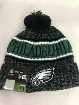 Philadelphia Eagles New Era Knit Hat On Field 2018 Sideline Beanie Warm ... - $14.74