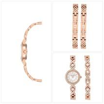 Armitron Women's Dress Round Watch Set, Rose Gold Bracelet - $47.65