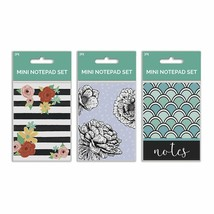 B-THERE Bundle of Mini Notepads - 9 Notebooks Total! 3 Different Designs... - $12.71