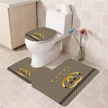 Hot Sale Gucci404 Toilet Set Anti Slip Good For Decoration Your Bathroom  - $20.09