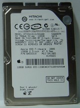 "NEW 120GB Hitachi HTS541612J9SA00 2.5"" 9.5mm SATA Hard Drive Free USA Shipping"