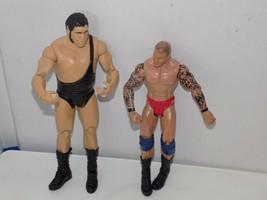 2011 Mattel Andre The Giant + Wrestling Figures - $14.84