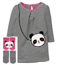 Gymboree Baby Girl Panda Purse Dress Socks Leggings 3-6  6-12 Months NWT - $19.79+