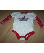 Size 6 Months Walt Disney World Parks Vintage Minnie Mouse L/S Creeper Top Shirt - $14.00