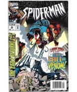 Spider-Man #53 VF Fall of Venom Tom Lyle Cover Marvel 1990 - $4.50