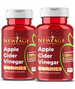 Apple Cider Vinegar Gummies by New Age - 2-Pack - 120 Count -Immunity & Detox -  - $34.99
