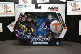 Marvel Gamerverse Iron Man vs. Taskmaster Action Figures - $16.61
