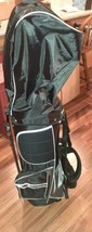 Nitro Pro Cart Golf Bag Black/Royal Blue - $65.44