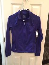 NWT Purple Gap Fit Zip Front Jacket Athletic Top - $20.00
