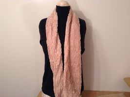 Fashion long  infinity faux fur scarf warm cozy choice of color solids image 14