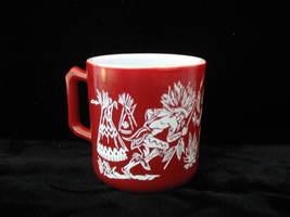 Hazel Atlas Vintage Kiddie Ware Cowboys & Indians Mug - $12.50