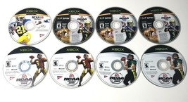 Microsoft Xbox NCAA Football 2003 2004 2005 & 2006 Lot 8 Total - Discs Only - $7.91
