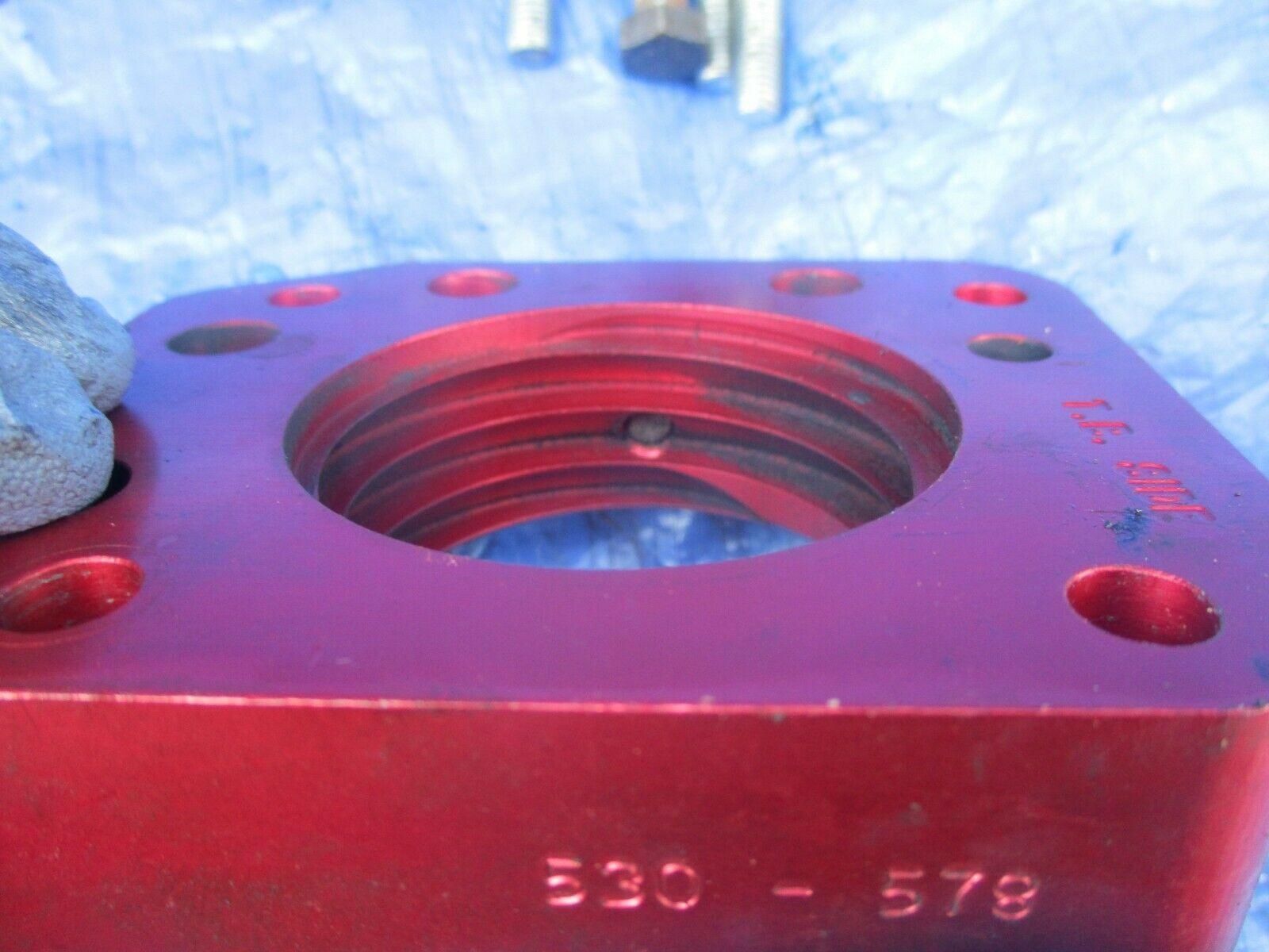93-01 Honda Prelude H22A4 Airaid throttle body spacer Poweraid 530-578 H22 H22A