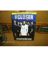 THE CLOSER-COMPLETE-STELLAR  2ND 2006 SEASON FOUR DVD  SET IN FACTORY CASE - $9.99