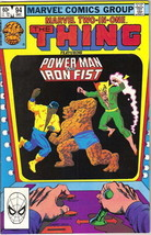 Marvel Two-In-One Comic Book #94 The Thing Power Man & Iron Fist, 1982 V... - $3.99