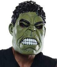 Rubie's Marvel Men's Avengers 2 Age Of Ultron Hulk Adult 3/4 Mask, Green... - $14.24