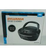 Sylvania Portable CD Boombox New Open Box Model SRCD202DG - $37.37