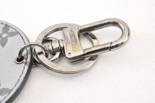 LOUIS VUITTON Monogram Silver Porte Cles Bag Charm MP1985 LV Auth yy446 image 4