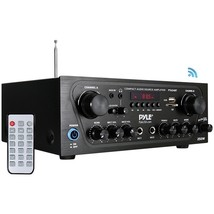 Pyle Home PTA24BT 250-Watt Compact Bluetooth Audio Stereo Receiver with ... - $119.91