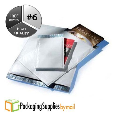 "#6 12.5"" x 19"" Poly Bubble Mailers Envelopes Bags Bag (25 Count) by PolyAir"