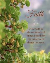 Faith Bible Verse Scripture Picture (8X10) New Fine Art Print Photo Jesu... - $4.99