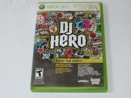 Dj Hero Microsoft XBOX 360, 2009 Xbox Live Start The Party Video Gioco T-Teen - $16.02