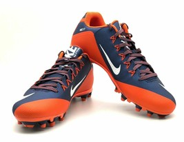 Nike Alpha Men's Pro 2 TD Football Cleats Nike Skin Orange/ Blue US 16 NEW - $14.87